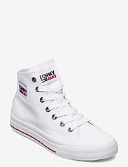 Tommy Hilfiger - TOMMY JEANS MIDCUT VULC - high top sneakers - white - 0