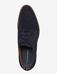 Tommy Hilfiger - ESSENTIAL SUEDE LACE UP DERBY - laced shoes - midnight - 3