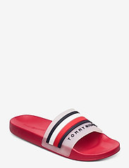 Tommy Hilfiger - TOMMY HILFIGER POOLS - pool sliders - primary red - 0