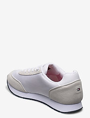 Tommy Hilfiger - CORPORATE MATERIAL MIX RUNNER - low tops - white - 2