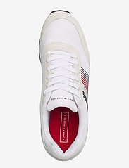 Tommy Hilfiger - CORPORATE MATERIAL MIX RUNNER - low tops - white - 3