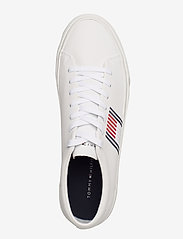 Tommy Hilfiger - CORPORATE LEATHER SNEAKER - low tops - white - 3