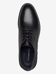 Tommy Hilfiger - ELEVATED LEATHER MIX SHOE - laced shoes - black - 3