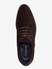 Tommy Hilfiger - SIGNATURE HILFIGER SUEDE SHOE - laced shoes - cocoa - 3
