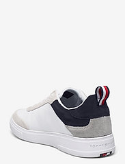 Tommy Hilfiger - MODERN CUPSOLE LEATHER MIX - low tops - desert sky - 2