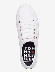 Tommy Hilfiger - CORPORATE FLATFORM SNEAKER - low top sneakers - white - 3