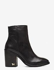 Tommy Hilfiger - MONO COLOR HEELED BOOT - ankelstøvletter med hæl - black - 1