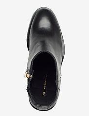 Tommy Hilfiger - MONO COLOR HEELED BOOT - ankelstøvletter med hæl - black - 3