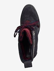 Tommy Hilfiger - SPORTY OUTDOOR MID HEEL LACE UP - ankelstøvletter med hæl - ebony - 3