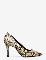 Tommy Hilfiger - SNAKE PRINT PUMP - klassiske pumps - warm sand - 1