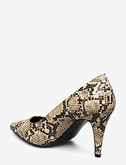 Tommy Hilfiger - SNAKE PRINT PUMP - klassiske pumps - warm sand - 2