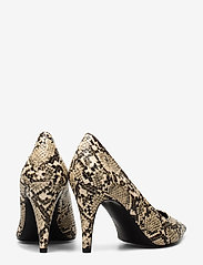 Tommy Hilfiger - SNAKE PRINT PUMP - klassiske pumps - warm sand - 4