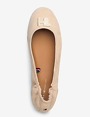 Tommy Hilfiger - TH HARDWARE BALLERINA - ballerinas - clayed pebble - 3