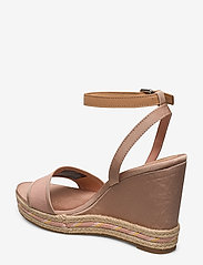Tommy Hilfiger - SPORTY TEXTILE HIGH WEDGE - espadrilles met sleehak - sandbank - 2
