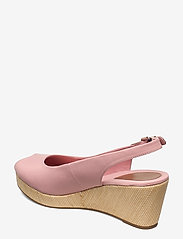 Tommy Hilfiger - ICONIC ELBA SLING BACK WEDGE - wedges - soothing pink - 2