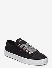 Tommy Hilfiger - ESSENTIAL NAUTICAL SNEAKER - low top sneakers - black - 0