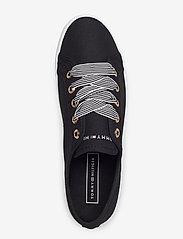 Tommy Hilfiger - ESSENTIAL NAUTICAL SNEAKER - low top sneakers - black - 3