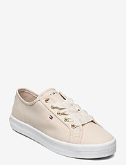 Tommy Hilfiger - ESSENTIAL NAUTICAL SNEAKER - low top sneakers - classic beige - 0