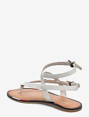 Tommy Hilfiger - FEM ELASTIC FLAT SANDAL - flade sandaler - white - 2