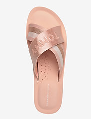 Tommy Hilfiger - TOMMY STRAP COMFY BEACH SANDAL - matalat sandaalit - cameo - 3