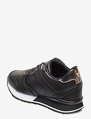 Tommy Hilfiger - DRESSY WEDGE SNEAKER - low top sneakers - black - 2