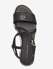 Tommy Hilfiger - TH HARDWARE FLAT SANDAL - flade sandaler - black - 3