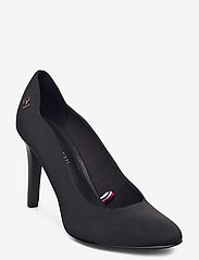 Tommy Hilfiger - ESSENTIAL HIGH HEEL PUMP - classic pumps - black - 0