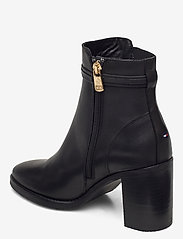 Tommy Hilfiger - BLOCK BRANDING HIGH HEEL BOOT - heeled ankle boots - black - 2