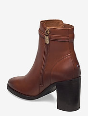 Tommy Hilfiger - BLOCK BRANDING HIGH HEEL BOOT - heeled ankle boots - pumpkin paradise - 2