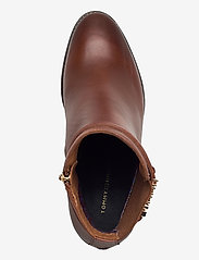 Tommy Hilfiger - BLOCK BRANDING HIGH HEEL BOOT - heeled ankle boots - pumpkin paradise - 3