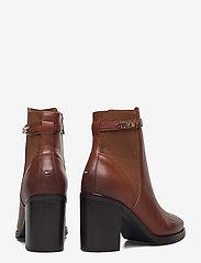 Tommy Hilfiger - BLOCK BRANDING HIGH HEEL BOOT - heeled ankle boots - pumpkin paradise - 4