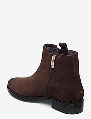 Tommy Hilfiger - TH INTERLOCK SUEDE FLAT BOOT - cocoa - 2