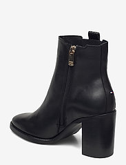 Tommy Hilfiger - TH INTERLOCK HIGH HEEL BOOT - heeled ankle boots - black - 2