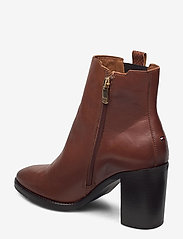 Tommy Hilfiger - TH INTERLOCK HIGH HEEL BOOT - heeled ankle boots - pumpkin paradise - 2