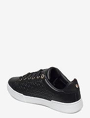 Tommy Hilfiger - TH MONOGRAM ELEVATED SNEAKER - low top sneakers - black - 2