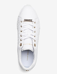Tommy Hilfiger - TH MONOGRAM ELEVATED SNEAKER - low top sneakers - white - 3