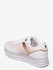 Tommy Hilfiger - KNITTED FLATFORM SNEAKER - low top sneakers - light pink - 2