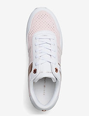 Tommy Hilfiger - KNITTED FLATFORM SNEAKER - low top sneakers - light pink - 3