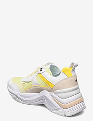 Tommy Hilfiger - FASHION WEDGE SNEAKER - chunky sneakers - frosted lemon - 2