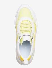 Tommy Hilfiger - FASHION WEDGE SNEAKER - chunky sneakers - frosted lemon - 3