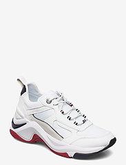 Tommy Hilfiger - FASHION WEDGE SNEAKER - chunky sneakers - rwb - 0