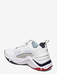 Tommy Hilfiger - FASHION WEDGE SNEAKER - chunky sneakers - rwb - 2