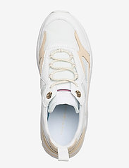 Tommy Hilfiger - FASHION WEDGE SNEAKER - chunky sneakers - white - 3