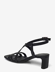 Tommy Hilfiger - TH INTERLOCK SQUARE TOE SANDAL - heeled sandals - black - 2