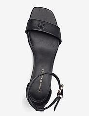 Tommy Hilfiger - ESSENTIAL MID HEEL SANDAL - heeled sandals - black - 3