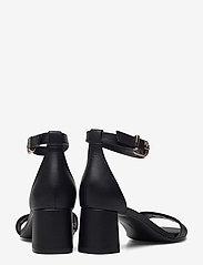 Tommy Hilfiger - ESSENTIAL MID HEEL SANDAL - heeled sandals - black - 4