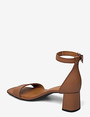 Tommy Hilfiger - ESSENTIAL MID HEEL SANDAL - heeled sandals - summer cognac - 2