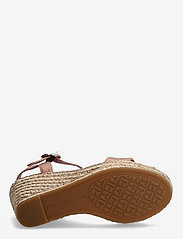 Tommy Hilfiger - TH SIGNATURE HIGH WEDGE SANDAL - espadrilles mit absatz - soothing pink - 4