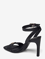 Tommy Hilfiger - TOMMY PADDED HIGH HEEL SANDAL - heeled sandals - black - 2