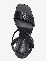 Tommy Hilfiger - TOMMY PADDED HIGH HEEL SANDAL - heeled sandals - black - 3